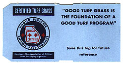 Paradise Turf Farm Certified Turf Grass Logo